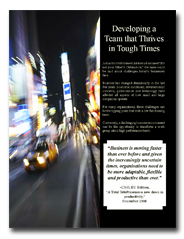 free high performance teams white paper
